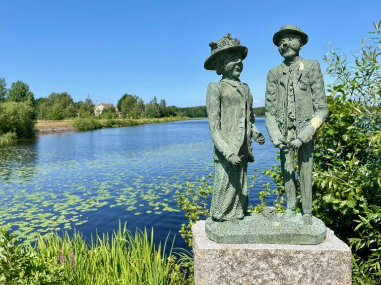 Pensionatsgäster av Tore Brogårdh