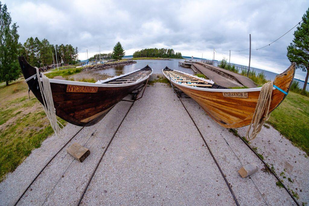 Kyrkbåtar i Tällberg