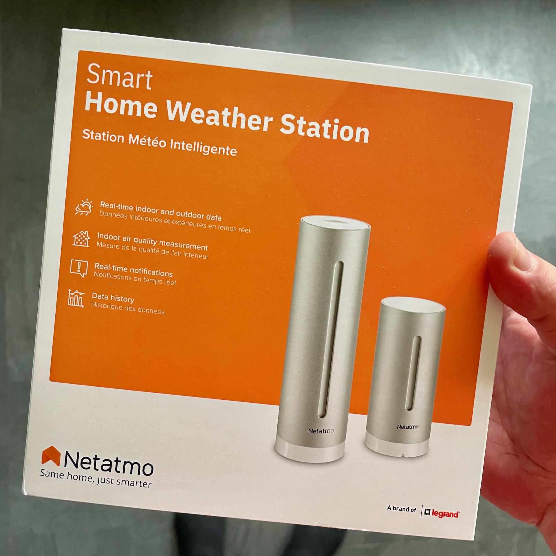 Netatmo Smart Home Weather Station