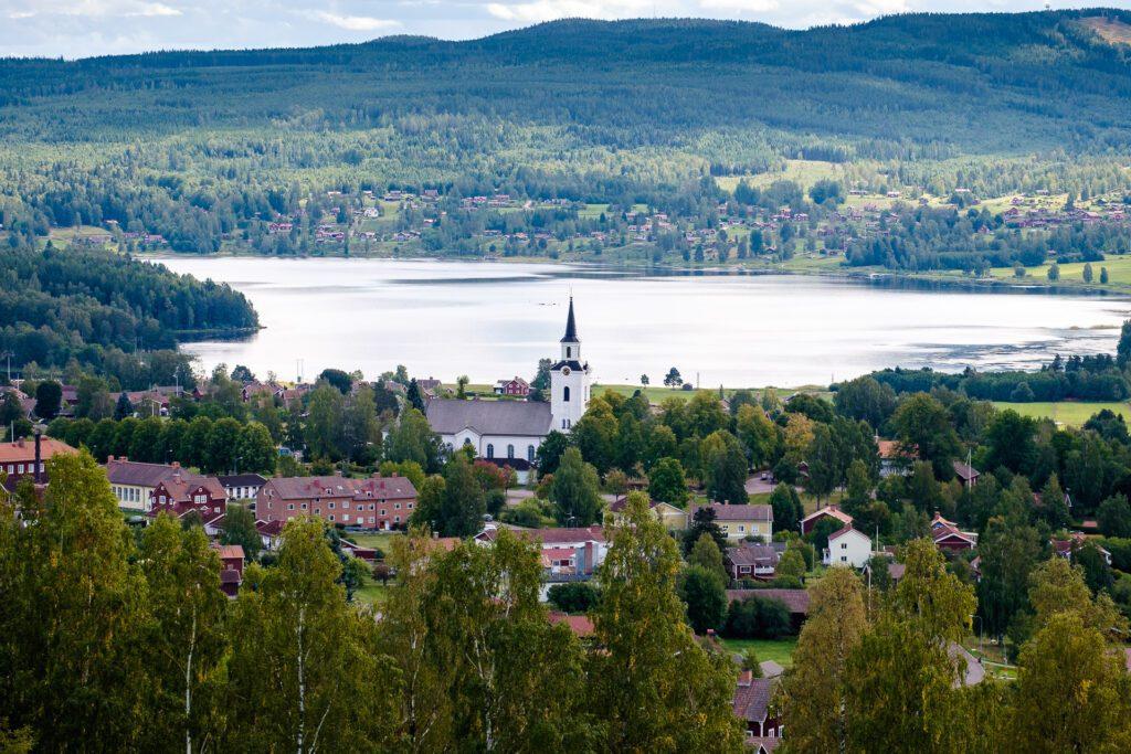 Utsikt över Siljansnäs