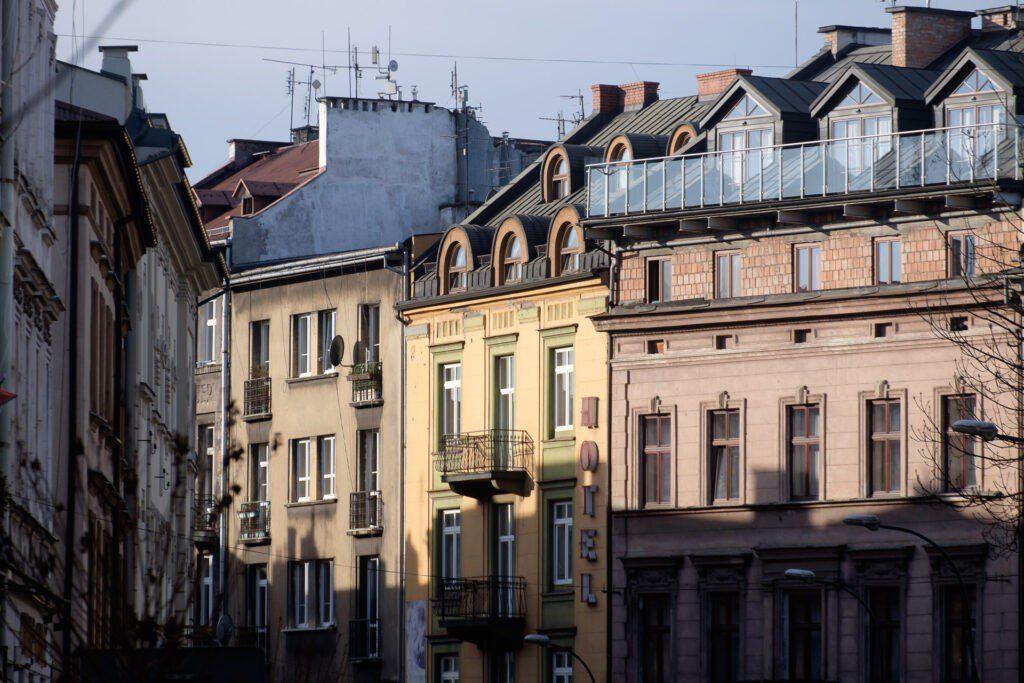 Kazimierz, judiska kvarteren i Krakow.